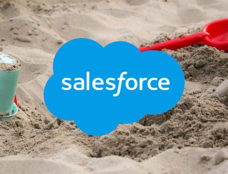 【Salesforce】Sandboxの作り方