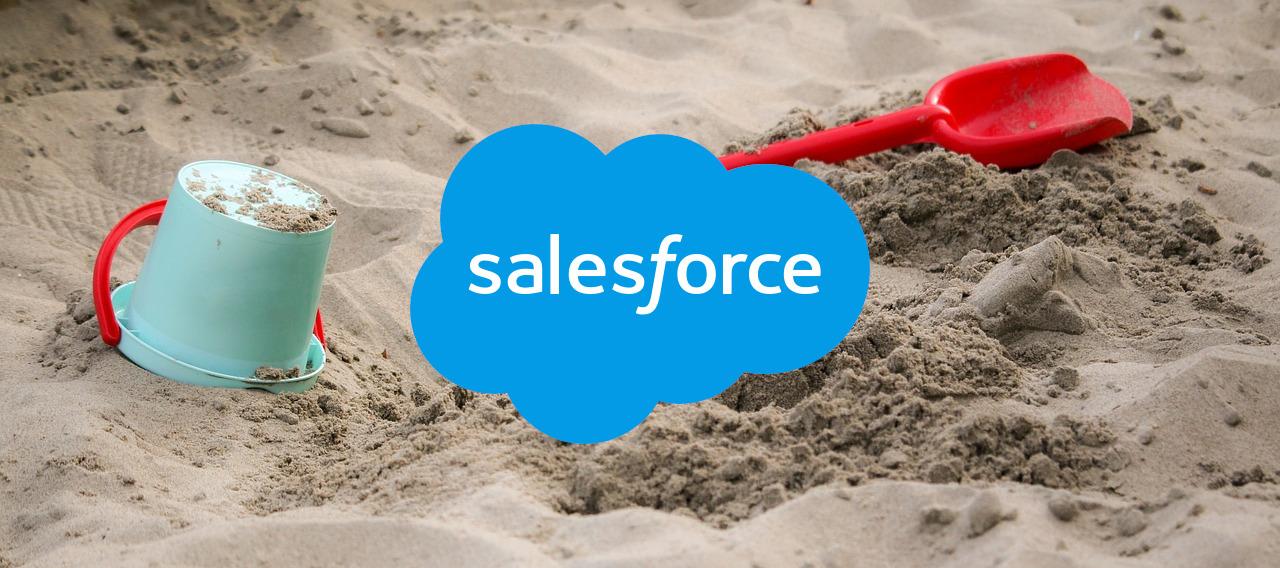 【Salesforce】Sandboxの更新とデータコピー